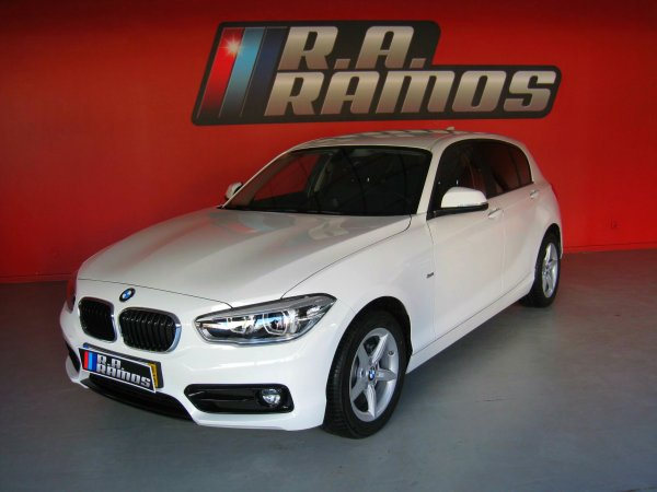 BMW 116d Sport Steptronic GPS (116cv)