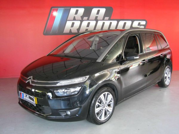 Citröen C4 Grand Picasso 1.6 BlueHDi Exclusive EAT6 GPS/7Lug. (120cv)