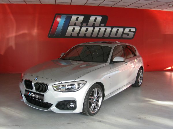 BMW 116d Steptronic Pack M+GPS (116cv)